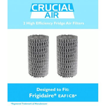 Crucial Air 2 Frigidaire EAF1CB Pure Air Refrigerator Air Filters, Compare to Part