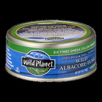 Wild Planet Wild Albacore Tuna No Salt Added