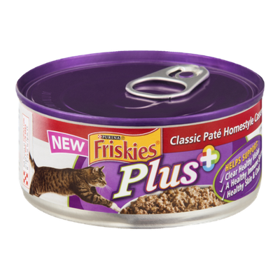 Purina Friskies Plus Classic Pate Homestyle Casserole