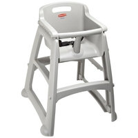 Rubbermaid Commercial Products Rubbermaid FG780608 Platinum Sturdy Chair Youth Seat without Wheels, 23.5