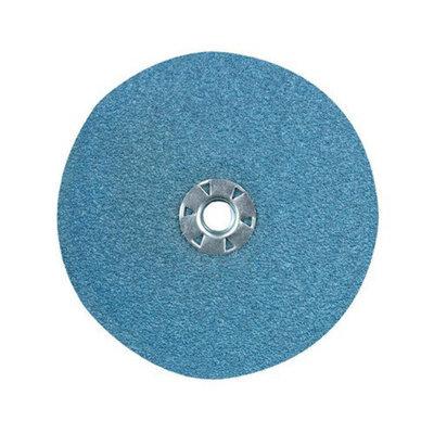 CGW Abrasives Resin Fibre Discs, Zirconia - 5x7/8 24 grit type zirkresin fibre disc (Set of 10)