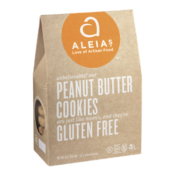 Aleia's Peanut Butter Cookies Gluten Free