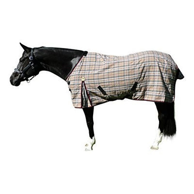 Kensington Stable Sheet 69In Blue Plaid