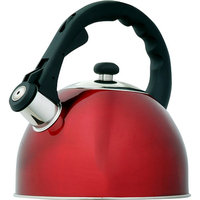Evco International 72975 Satin Splendor Metallic Cranberry 2. 8 Qt Tea Kettle