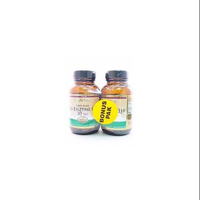 Coenzyme Q 10 30MG Twin Pack LifeTime 30+30 Twin Pack