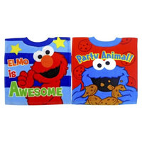 Neat Solutions Sesame Street Pullover Bib - Elmo/Cookie Monster (2