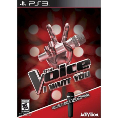 Activision The Voice: I Want You Bundle with Microphone (PlayStation 3)