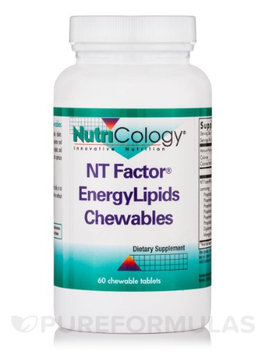 Nutricology/allergy Research NutriCology NT Factor EnergyLipids Chewables 60 Chewable Tablets