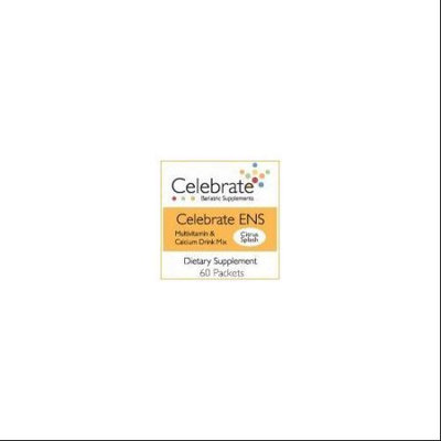 Celebrate ENS Multivitamin & Calcium Drink Mix Citrus Splash 60 packets