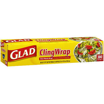 Glad ClingWrap Clear Plastic Wrap