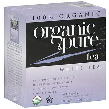 Organic & Pure White Tea