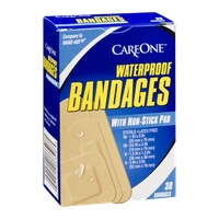 CareOne Bandages Waterproof - 30 CT