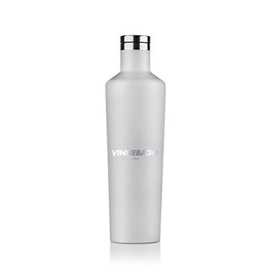 Corkcicle Vinnebago Insulated Stainless Steel Bottle/Thermos, 750ml, White