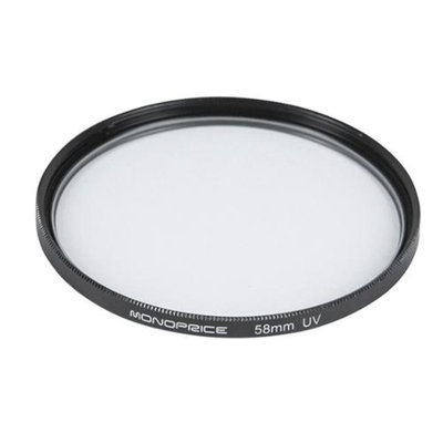 Monoprice 58mm UV Filter