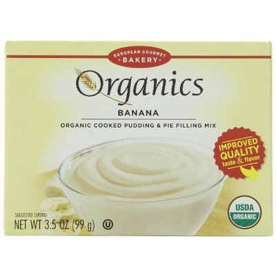 Dr. Oetker Organics Pudding & Pie Filling Mix, Banana, 3.5 Ounce (Pack of 12)