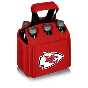 Nfl - Kansas City Chiefs Picnic Time NFL Kansas City Chiefs Six Pack Digital Print Insulated Holder