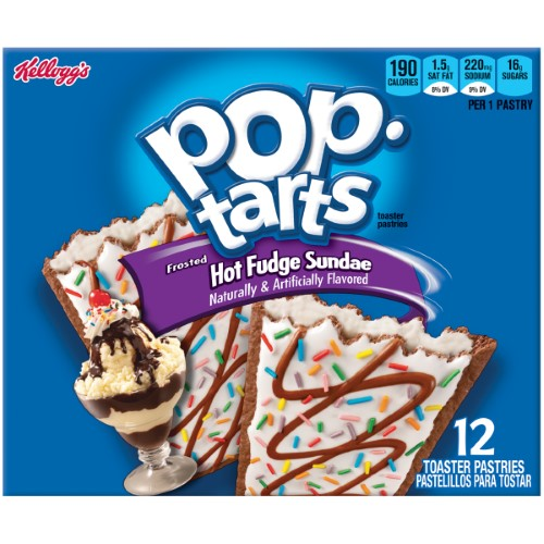 Pop-Tarts Frosted Hot Fudge Sundae, 12 ct Packages, 4 pk