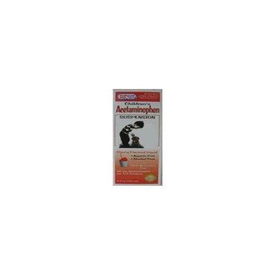 Preffered Plus Products Acetaminophen Suspension Cherry Flavoured Liquid for Children - 4 Oz