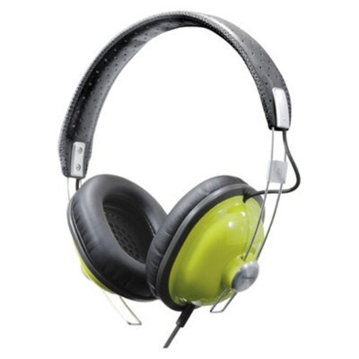 Panasonic RetroStyle Monitor On-the-Ear Headphones - Green (RP-HTX7-