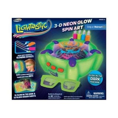 Lightastic Neon Glow 3D Spin Art