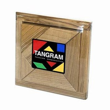 Square Root Tangram Brain Teaser Puzzle Ages 6+
