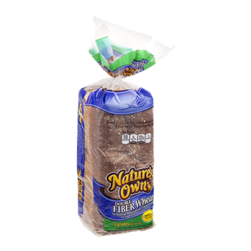 Nature's Own Bread Double Fiber Wheat With Omega-3