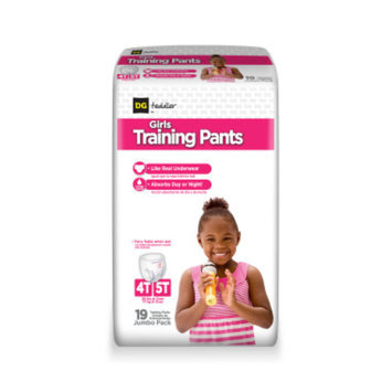 DG Toddler Training Pants for Girls 4T-5T - 19ct