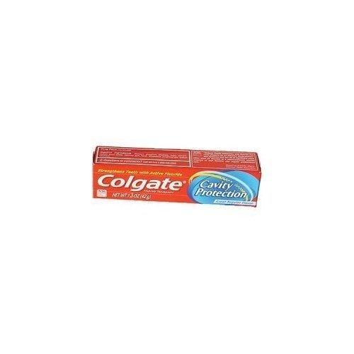 Colgate Toothpaste Cavity Protection Regular Flavor 1.3 oz.