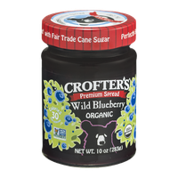 Crofter's Premium Organic Spread Wild Blueberry