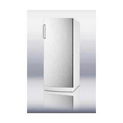 Summit FFAR10SSTB 10.1 Cu. Ft. Stainless Steel Counter Depth Freezerless Refrigerator