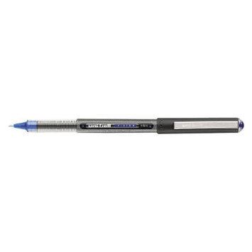Uniball uni-ball Vision Roller Ball Stick Waterproof Pen, Micro - Blue Ink