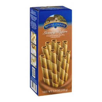 Royal Dansk Luxury Wafers Cappuccino