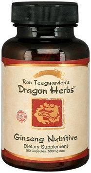 Ginseng Nutritive (Ren Shen Yang Ying Tang) Dragon Herbs 100 Caps