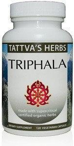 Triphala Organic Supercritical Tattva's Herbs LLC. 60 VCaps