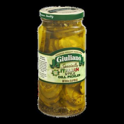 Giuliano Specialty Italian Style Dill Pickles