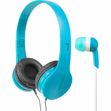 Wicked Audio Mayhem Headphones Bundle Blue - M-SQUARED
