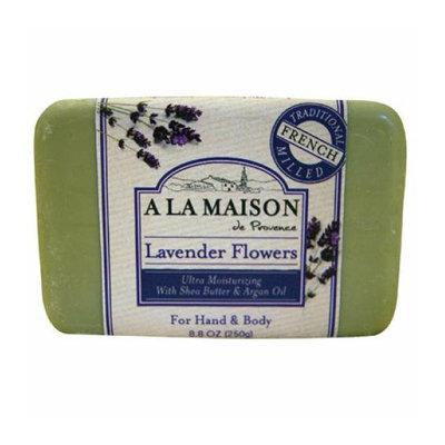 A La Maison Bar Soap Lavender Flowers 8.8 oz