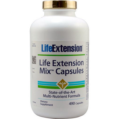 Life Extension Mix, 490 Caps by Life Extension