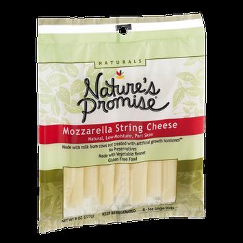 Nature's Promise Mozzarella String Cheese - 8 CT
