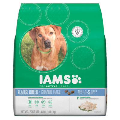 IamsA ProActive Health Large Breed Adult Dog Food