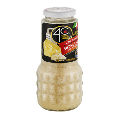 4C Grated Cheese Homestyle 100% Natural Romano