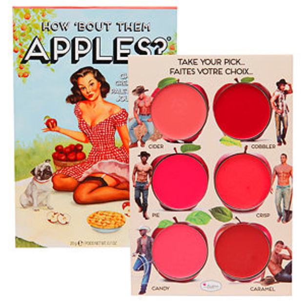 Thebalm the Balm How Bout Them Apples Cheek & Lip Cream Palette