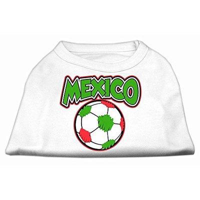Ahi Mexico Soccer Screen Print Shirt White 4x (22)