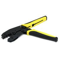 Monoprice Multi-Function Crimping Tool w/Ratchet Type for RG59, 62, 6, BELDEN 8281