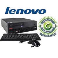 Lenovo ThinkCentre Desktop Intel Core 2 Duo 2.3GHz 2GB RAM 120GB HDD Win 7 Professional Refurbished, Pre-Installed Micro