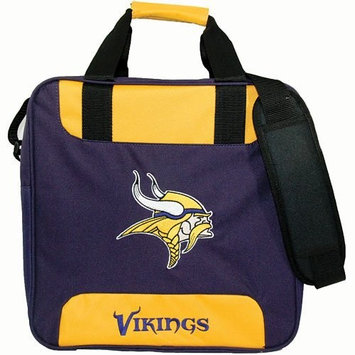 KR NFL Single Tote Vikings Bowling Bag