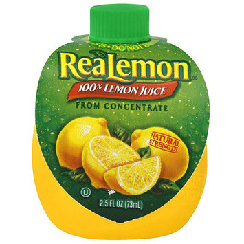 Realemon 100% Lemon Juice, 2.5 oz (Pack of 24)
