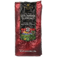 Members Mark Member's Mark Fair Trade Finest Coffee, Colombian Supremo, 40 Ounce