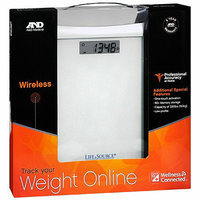 LifeSource Wellness Connected Wireless Precision Scale