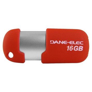 Dane-Elec 16GB USB Flash Drive - Red (DA-Z16GCNR15D-C)